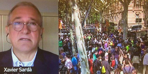 El inquietante vaticinio de Xavier Sardà para Cataluña: