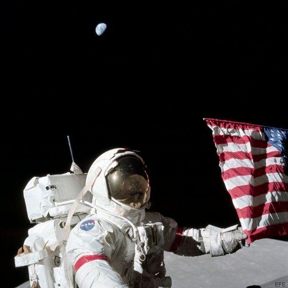 Muere Gene Cernan, el último astronauta que pisó la