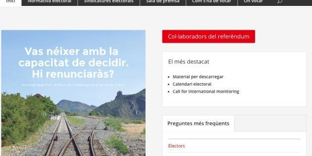 Puigdemont publica la web que concreta dónde se puede votar el