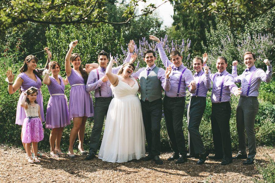 Esta boda de Harry Potter parece hecha con un hechizo