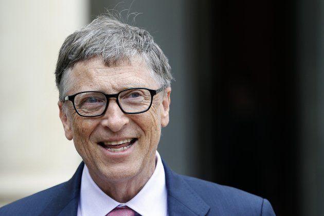 Bill Gates, durante un acto en París en junio de