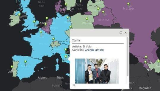 Prepárate, Edurne: estos son tus rivales en Eurovisión (MAPA