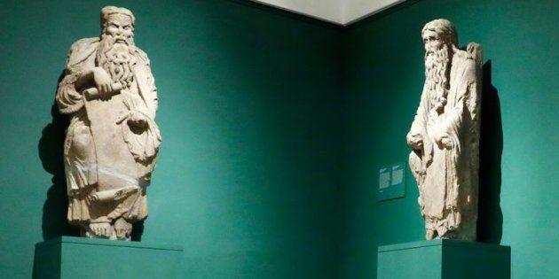 Las dos esculturas que reclama el Ayuntamiento de Santiago de