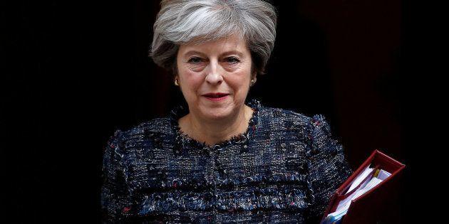 Imagen de archivo de la primera ministra británca, Theresa