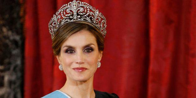 Lo que la corona de Letizia