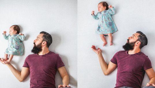 La sesión de fotos de bebé MÁS