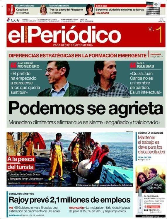 Revista de prensa: Podemos, un paso