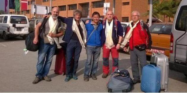 Familiares de españoles desaparecidos en Nepal,