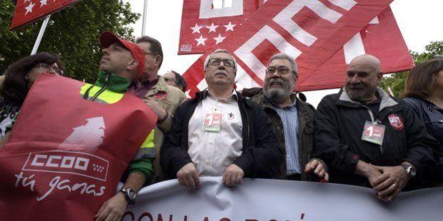 80 manifestaciones reclaman en España empleo