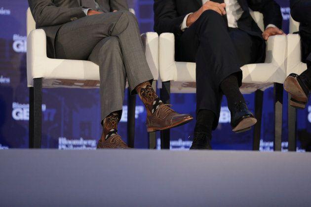 Los calcetines de Trudeau están volviendo loco a todo el mundo (menos al capitán Kirk, de Star