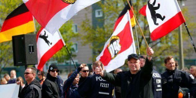 Neonazis alemanes agreden a sindicalistas en una concentración del Primero de