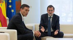 Rajoy y Sánchez pactan la vía para debatir la reforma constitucional tras el