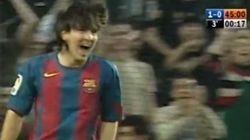¿Recuerdas el primer gol de Messi? Ya hace diez años