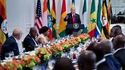 Trump la lía al inventarse un país y decir que sus amigos van a África