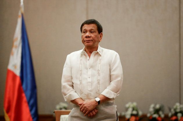 Rodrigo Duterte, durante una recepción a ministros de Economía de la ASEAN en Manila, el pasado día