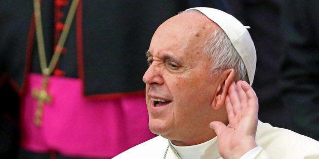 El Papa se queja por los fastos de la Expo de