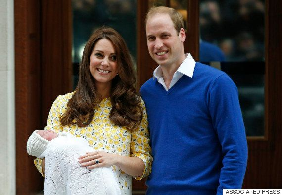 Primeras fotos de la princesa de Cambridge, hija de Guillermo y