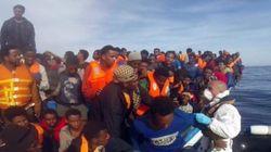 Sigue la odisea: 3.700 refugiados rescatados en un