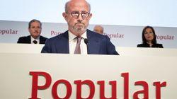 Anticorrupción pide investigar a los expresidentes del Popular por la quiebra del