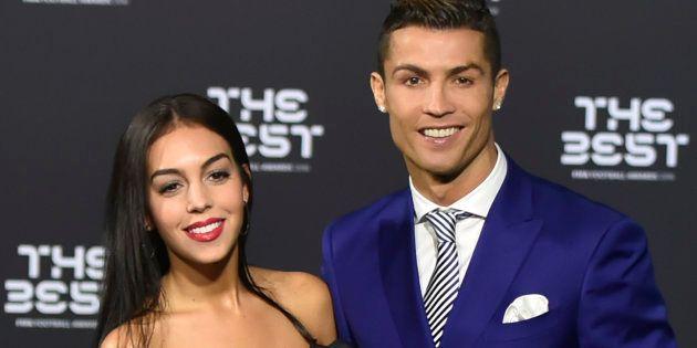 Cristiano Ronaldo y Georgina Rodriguez, en la gala de mejor jugador de la FIFA en enero de