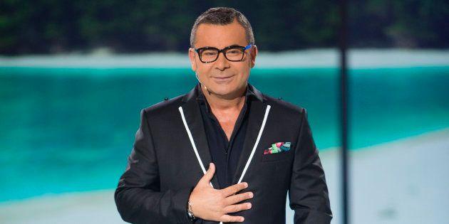 El presentador Jorge Javier Vázquez durante el debate final del programa 'Supervivientes' en