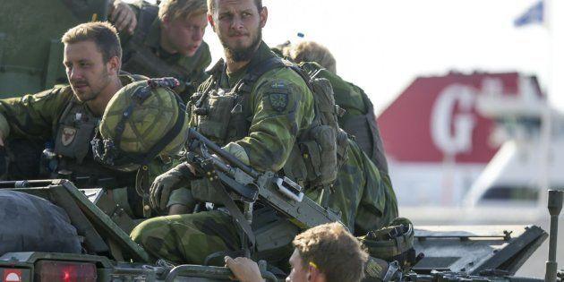 Imagen de archivo de miembros del Ejército