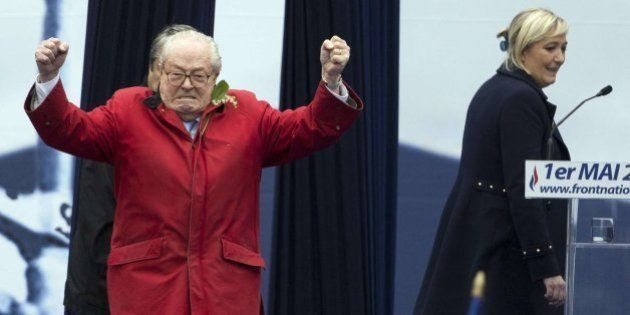 El Frente Nacional suspende de militancia a su fundador, Jean-Marie Le