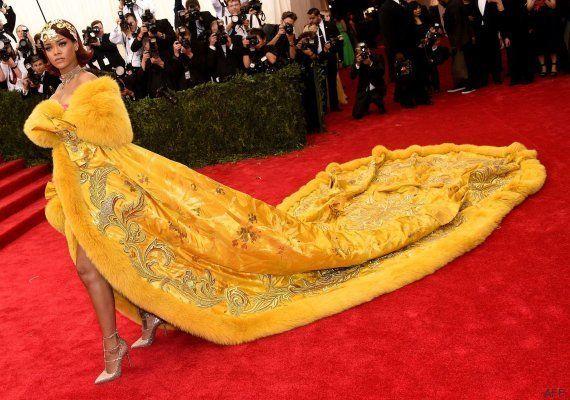 Los mejores memes de Rihanna en la gala MET 2015