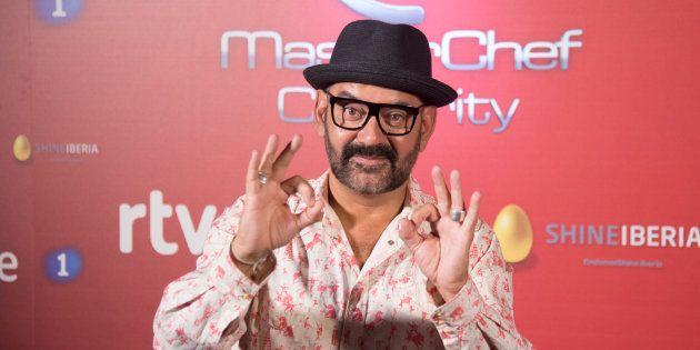 El actor José Corbacho durante la presentación de la 2 temporada del programa 'Masterchef