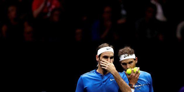 Roger Federer triunfa con este genial comentario sobre Rafa Nadal en