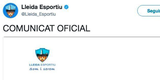 El Lleida denuncia que la Federación no les deja jugar con la camiseta de la