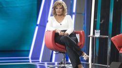 María Teresa Campos reaparece en televisión y se marcha