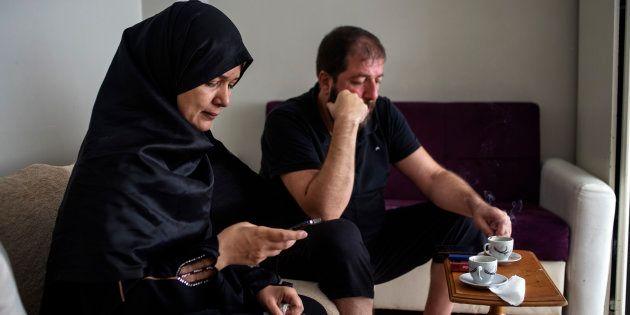 Aisar y Rania, refugiados sirios en