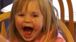 No te imaginas qué deja a esta niña sin palabras (y la hace tan