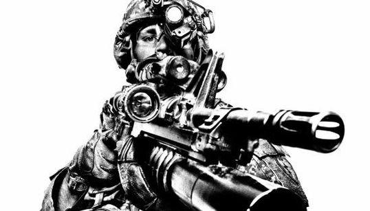 El ejército estadounidense, retratado por el fotógrafo