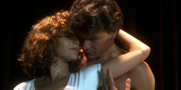 Patrick Swayze y Jennifer Grey, protagonistas de 'Dirty