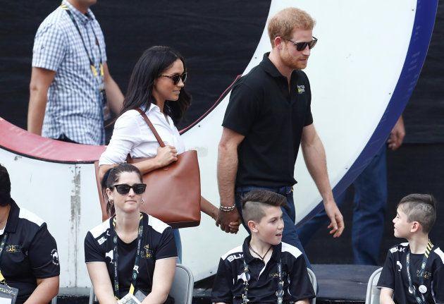 El príncipe Harry y Meghan Markle en los Juegos Invictus celebrados en Toronto
