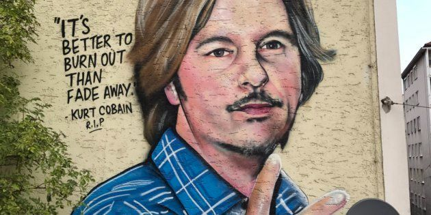 ¿Es de verdad Kurt Cobain el protagonista de este
