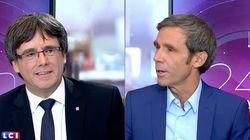 Puigdemont quiere abrir un periodo de transición si gana el
