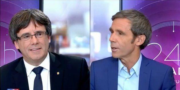 Entrevista de Puigdemont en