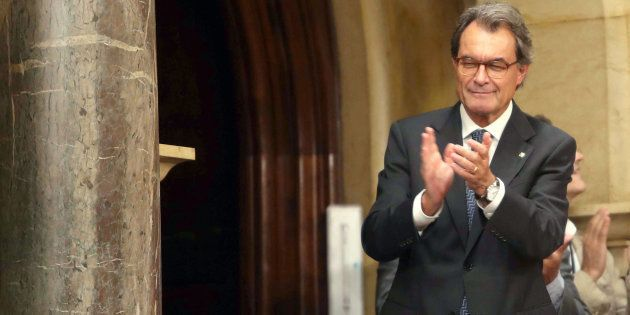 El expresidente de la Generalitat, Artur