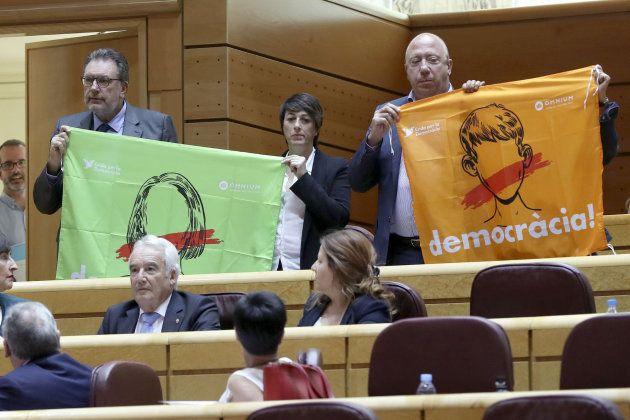 Las contradicciones del PDeCAT en Madrid sobre la declaración unilateral de