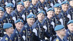 Putin luce músculo militar en el Desfile de la