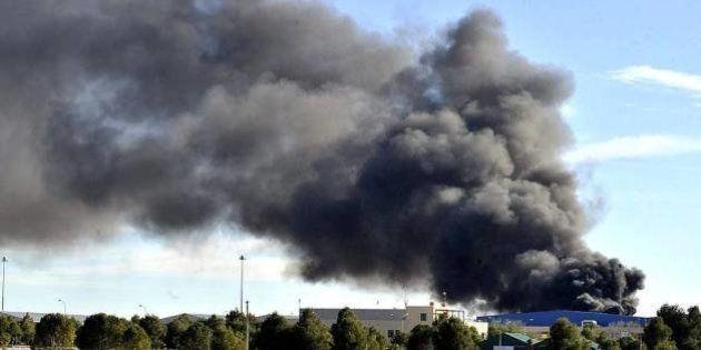 Cronología de accidentes de aviones militares en España desde