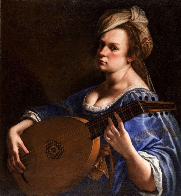 Artemisia Gentileschi - l'Autoretrat com a