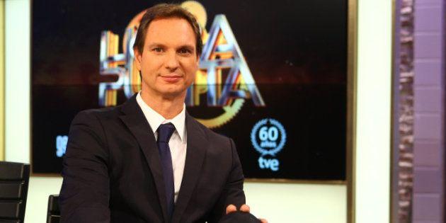 El presentador Javier Cárdenas durante la presentación del programa ''Hora