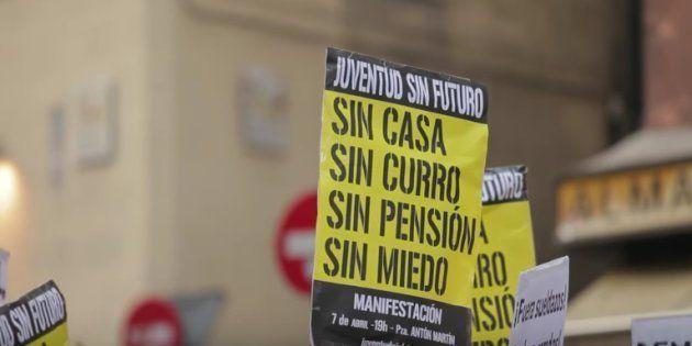 'Juventud Sin Futuro', colectivo impulsor del 15-M, se disuelve seis años después de su