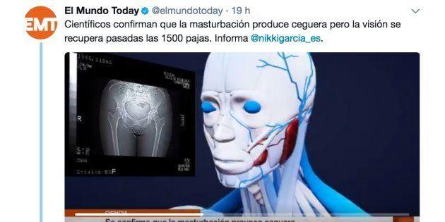La comentada respuesta de la ONCE a un tuit de 'El Mundo Today' sobre la
