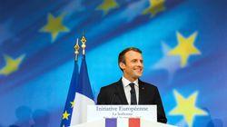 Macron lanza un ambicioso plan para refundar el proyecto