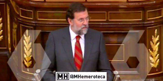 'Maldita Hemeroteca' arrasa al rescatar este vídeo de Rajoy de